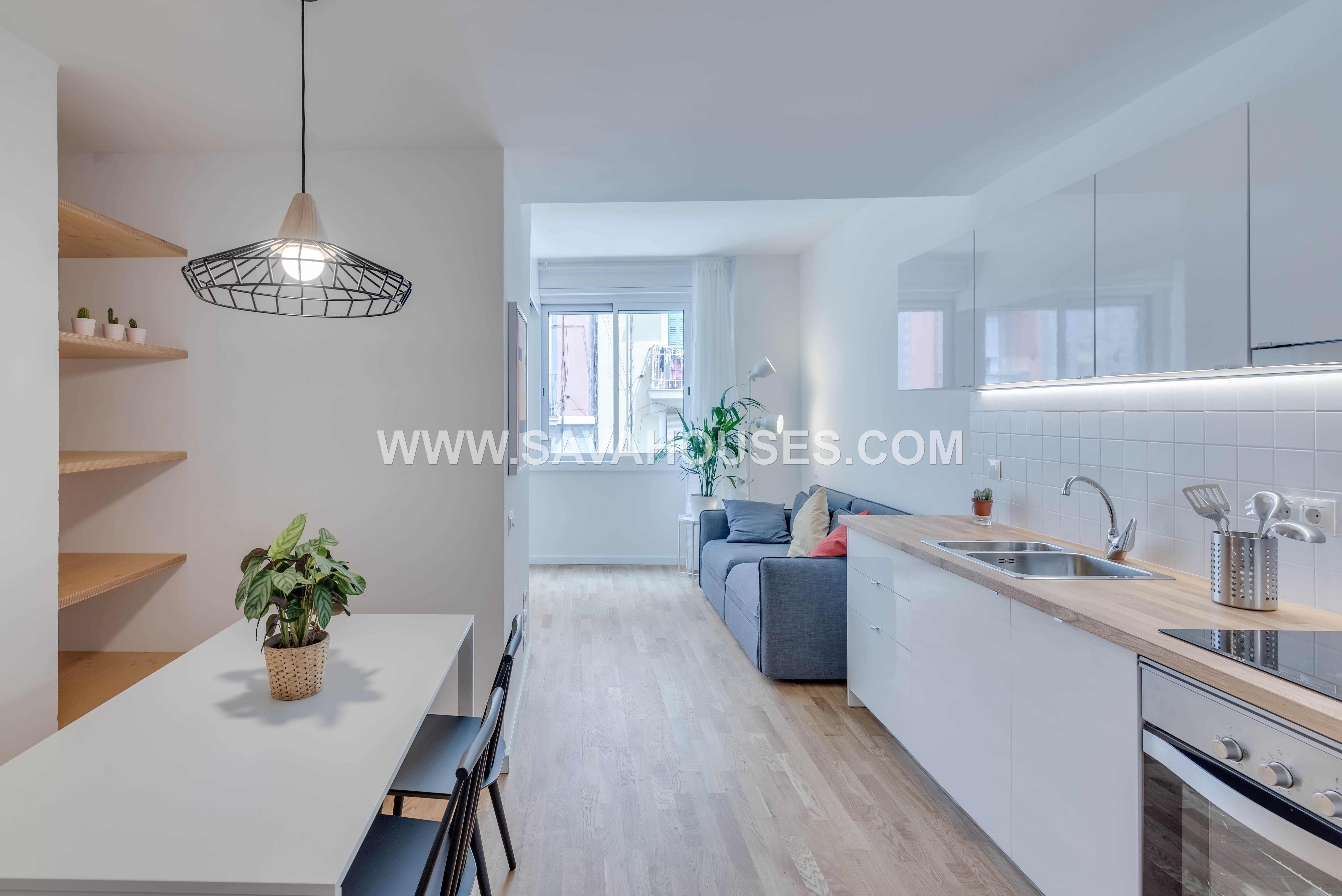 Wonderful Flat Completely Renovated In Poble Sec Savahouses # Muebles Poble Sec